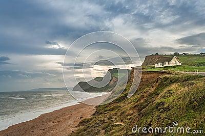 Dorset coastline UK