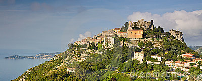 Eze hilltop village on the Cote d Azur