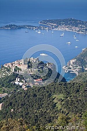 Free Eze Hilltop Village On The Cote D Azur Royalty Free Stock Photos - 14686658