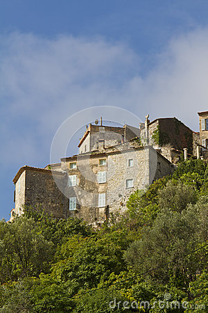 Free Eze Is A Small Old Village In Southern France Stock Photography - 24963562