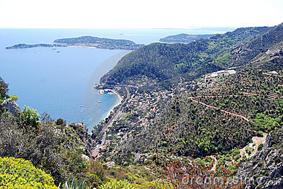 From Eze Village