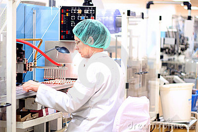 Fábrica farmacêutica