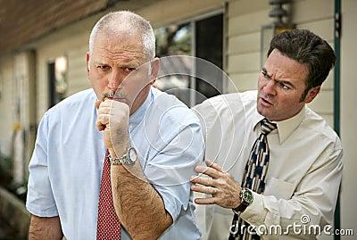 Fälliger Mann - Klaps-ein Rückseite