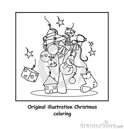 Färga för jul
