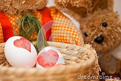 Färga för påskägg