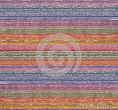 Färgrika paper strimlor