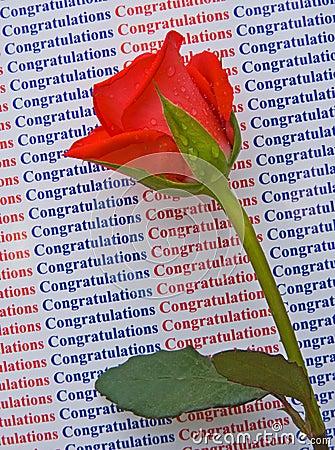 Félicitations sur votre réussite.