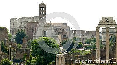 Fórum romano vídeos de arquivo