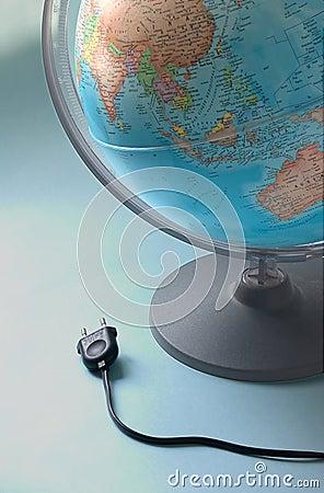 Förbind jordklotet till världen
