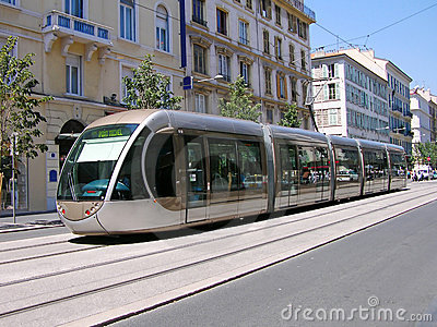 Förderwagen in Nizza