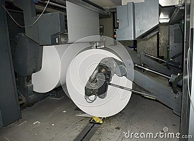 Förskjuten rengöringsduk för pressrulle