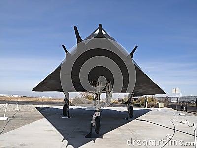 F-117 Museum Plane Editorial Photo