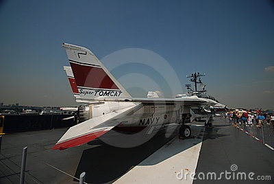 F-14 Tomcat Editorial Stock Photo
