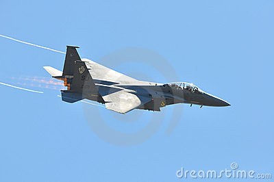 F-15 Fighter Jet Editorial Photo