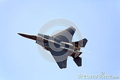 F-15 Strike Eagle Editorial Stock Photo
