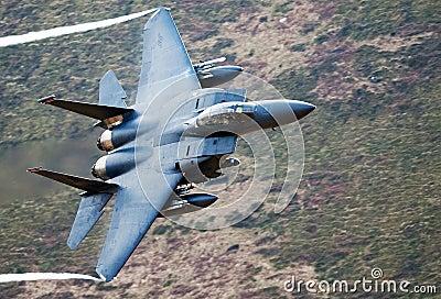 F-15E strike Eagle Editorial Stock Photo