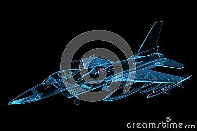 μπλε γεράκι F-16 που δίνεται