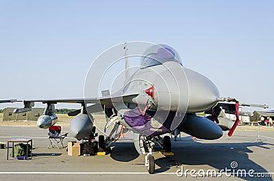 F-16 Fighting Falcon Editorial Stock Photo