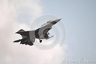 F-16 Jet Landing