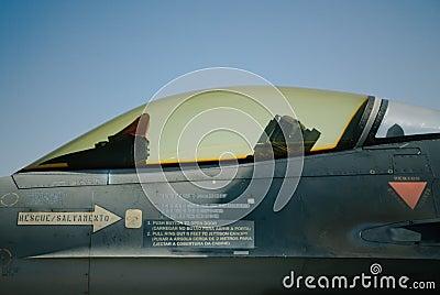 F-16 profile