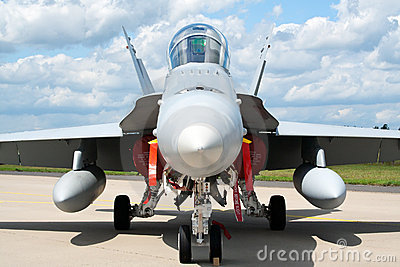 F-18 Hornet Editorial Image
