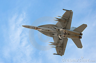 F-18 Super Hornet Editorial Stock Photo