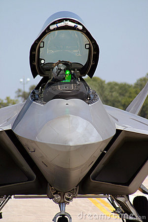 F-22 Raptor Cockpit