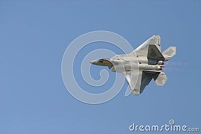 F-22 Raptor Flyby