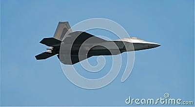 F-22 raptor jet fighter