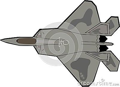 F-22 Raptor Plane