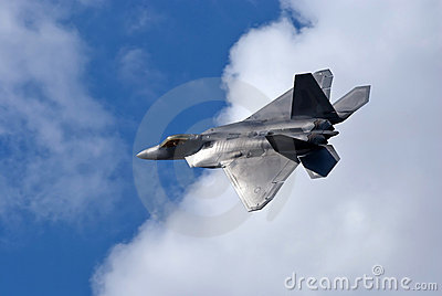 F-22 Raptor of the USAF Editorial Photography