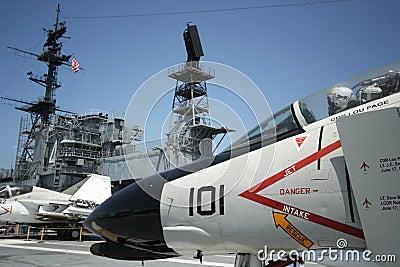 An F-4 Phantom Editorial Photography