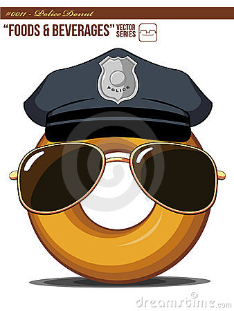 Free F&D 0011 - Police Donut Stock Images - 20875824