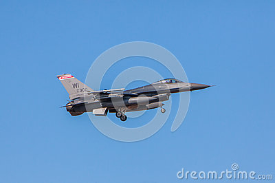 F-16 Fighter Falcon Editorial Photography