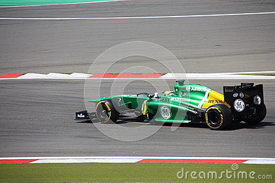F1 Photo : Formula 1 Caterham cars - Stock Photos Editorial Photography