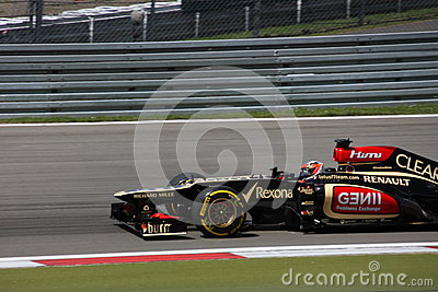 F1 Photo - Formula One Lotus Car : Kimi Raikkonen Editorial Image