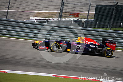 F1 Photo - Formula One Red Bull : Sebastian Vettel Editorial Photography