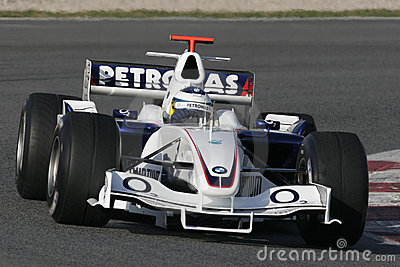 F1 2006 - Nick Heidfeld BMW Sauber Editorial Photography