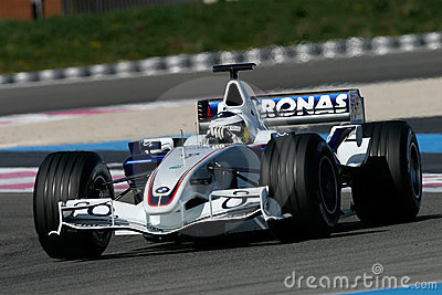 F1 2006 - Nick Heidfeld BMW Sauber Editorial Photo