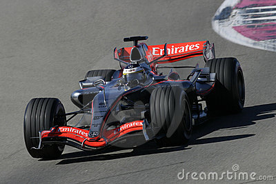F1 2006 - Pedro de la Rosa McLaren Editorial Stock Image