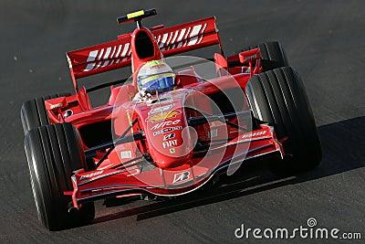 F1 2007 - Felipe Massa Ferrari Editorial Image