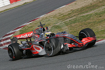 F1 2007 - Pedro de la Rosa McLaren Editorial Photo