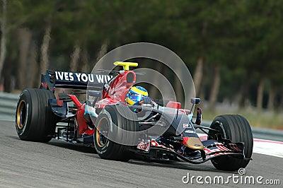 F1 2007 - Sebastien Bourdais Toro Rosso Editorial Stock Photo