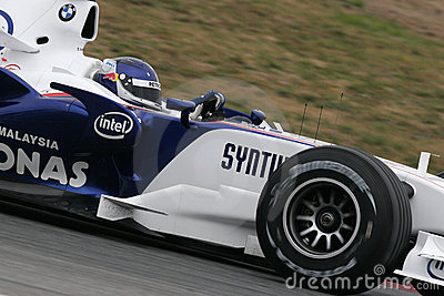 F1 2007 - Sebastien Vettel BMW Sauber Editorial Photo