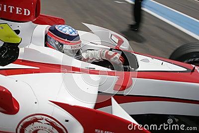 F1 2007 - Takuma Sato Super Aguri Editorial Stock Image