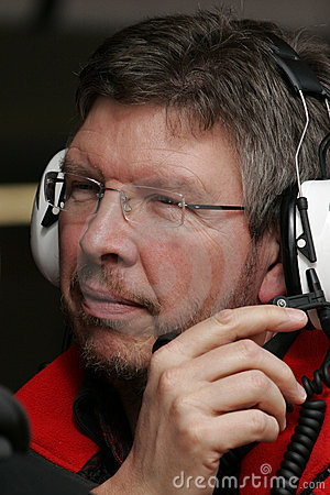 F1 2008 - Ross Brawn Honda Editorial Stock Image