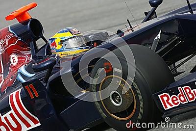 F1 2009 - Sebastien Bourdais Toro Rosso Editorial Photo