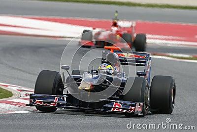 F1 2009 - Sebastien Bourdais Toro Rosso Editorial Image