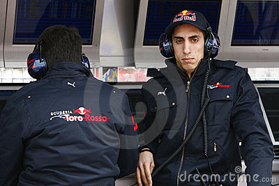 F1 2009 - Sebastien Buemi Toro Rosso Editorial Photography