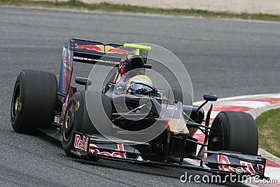 F1 2009 - Sebastien Buemi Toro Rosso Editorial Stock Photo